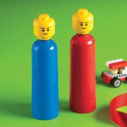 Lego drink bottles