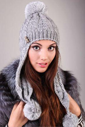 шапка ушанка вязаная женская: 21 тыс изображений найдено в Яндекс.Картинках