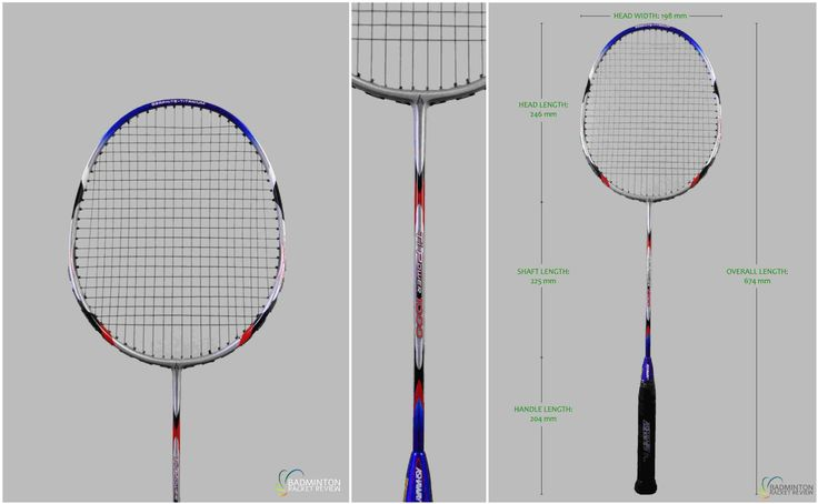 Ashaway TI Power 1000 Badminton Racket