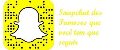 Tudo Information-O melhor de Tudo: Snapchat dos famosos veja os famosos e seus perfis...