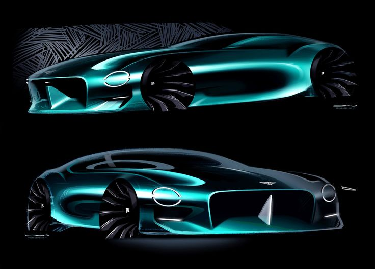 Bentley EV Coupe / Young-Joon Suh