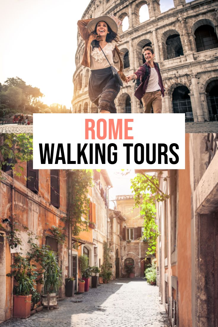 The BEST Rome walking tours!