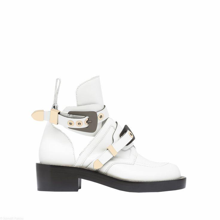 BALENCIAGA Ceinture Ankle Boots Botines D f
