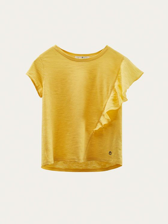 Girls´s T-shirts at Massimo Dutti online. Enter now and view our Fall Winter 2017 T-shirts collection. Effortless elegance!