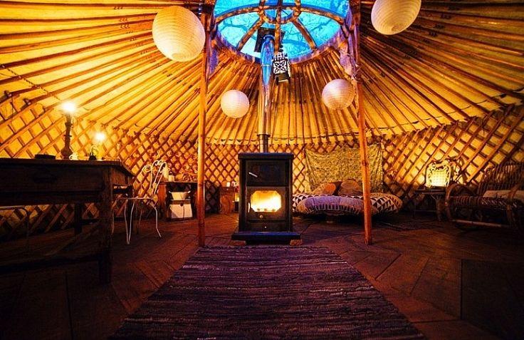 Une nuit romantique en Yourte dans les Landes !