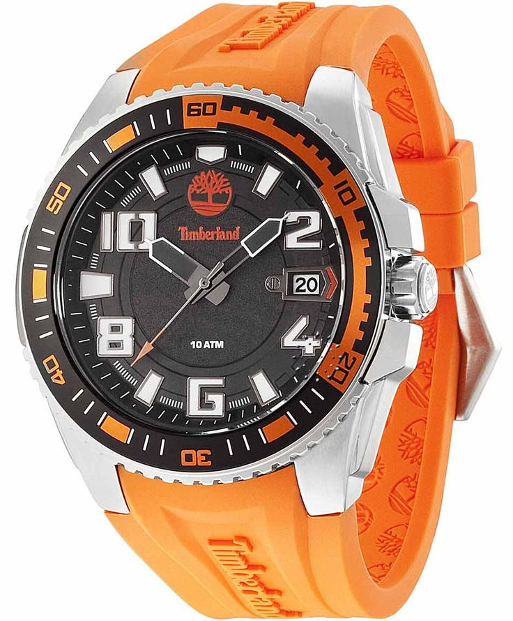 TIMBERLAND Fayston Orange Rubber Strap Η τιμή μας: 134€ http://www.oroloi.gr/product_info.php?products_id=35603