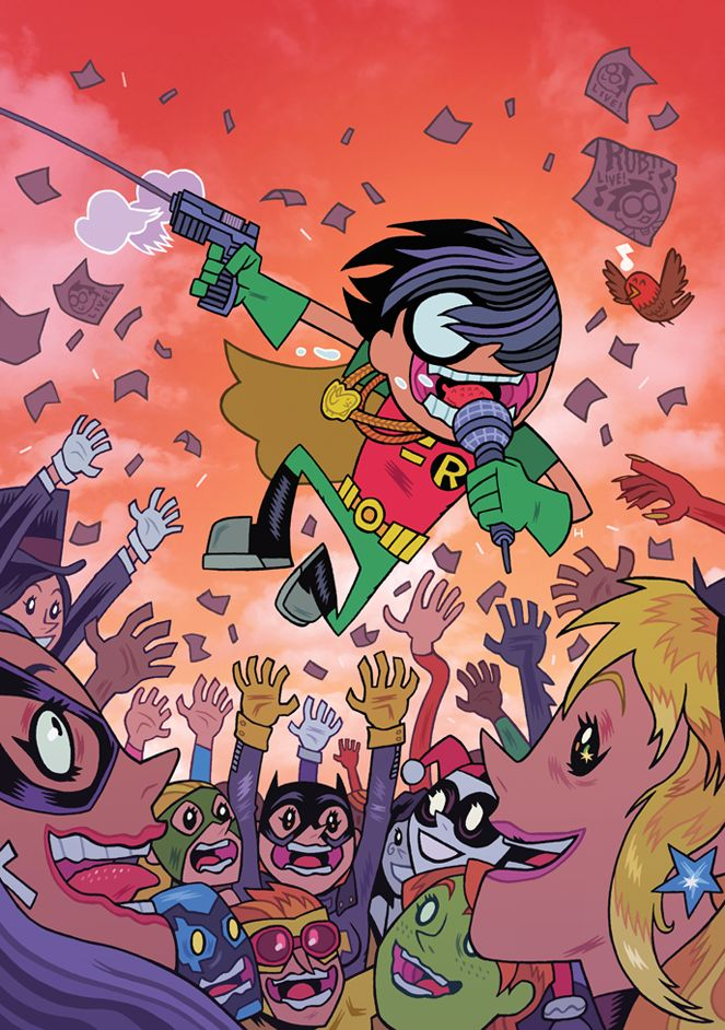 Teen Titans Go 7 Cover Design By Dan Hipp  Dc Universe -9742