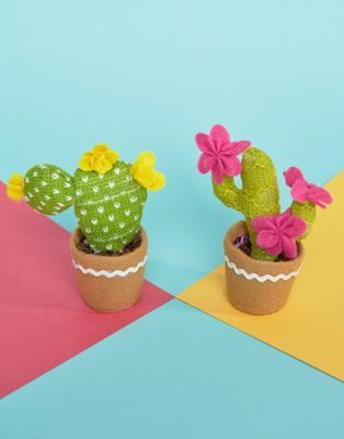 Sass & Belle | Sass & Belle Knitted Cactus Decorations