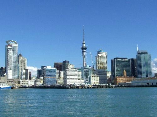 Auckland, so quite
