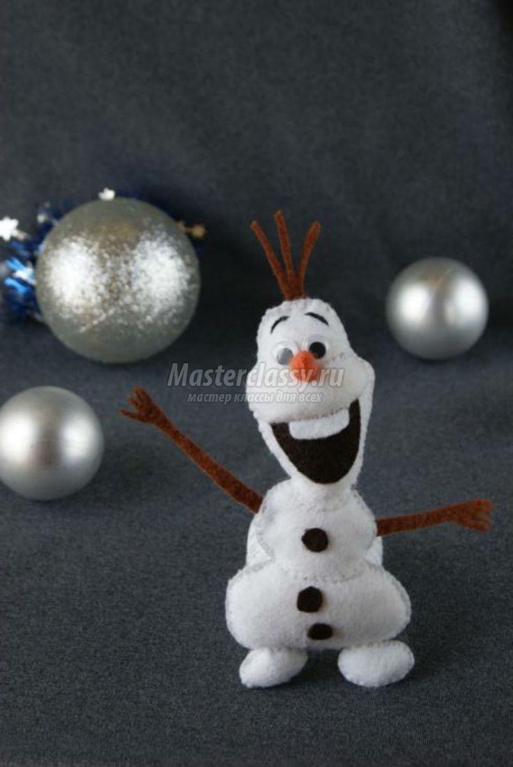 как сделать снеговика из ваты своими руками фото с пошаговой инструкцией