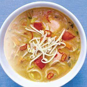 Indische pindasoep - Mijn Favoriete AH recept - Margreet Meijer - Albert Heijn - via http://bit.ly/epinner