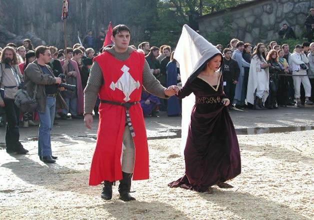 История костюма европейского средневековья