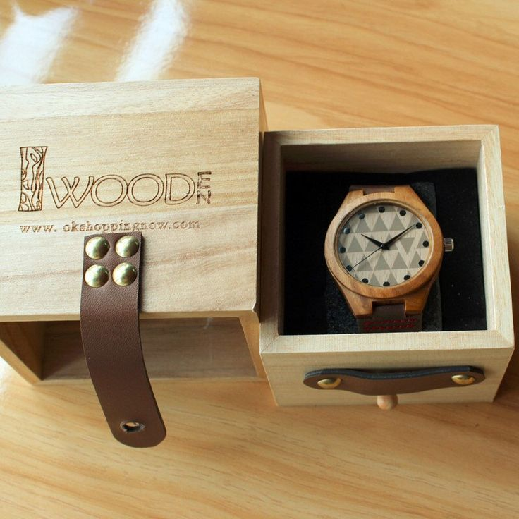 A personal favourite from my Etsy shop https://www.etsy.com/listing/260599310/natural-bamboo-wooden-watches-with