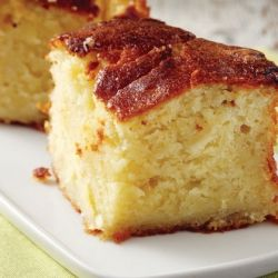 Greek almond/honey cake, mum's successful recipe - Recipe in English