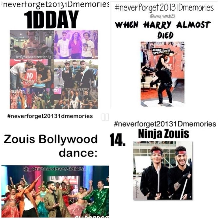 #neverforget20131dmemories 1D Day!