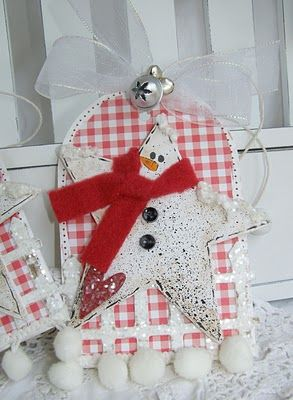 Snowman From a Star Tags