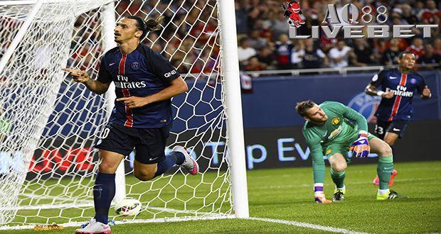 Liputan Bola - PSG Kalahkan Manchester United 2-0