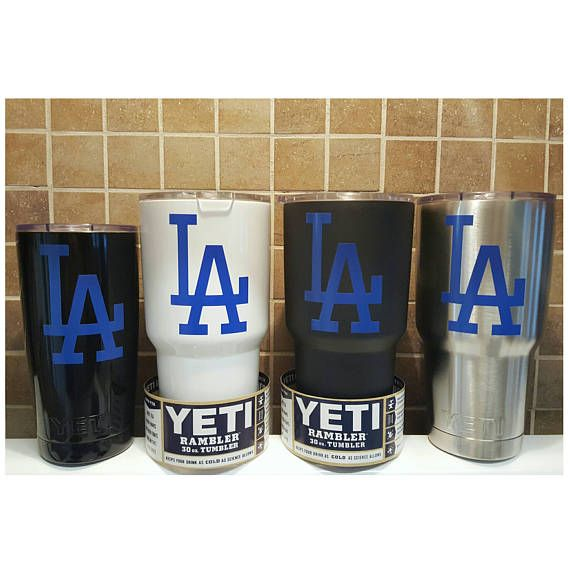 YETI  Authentic  LA Dodgers Yeti Cup Mug 20 oz 30 oz Rambler