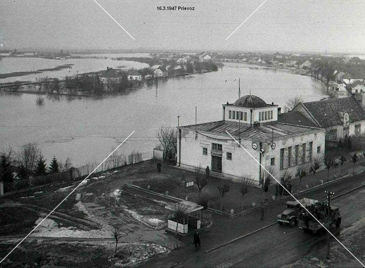 Prievoz, povodeň 1947