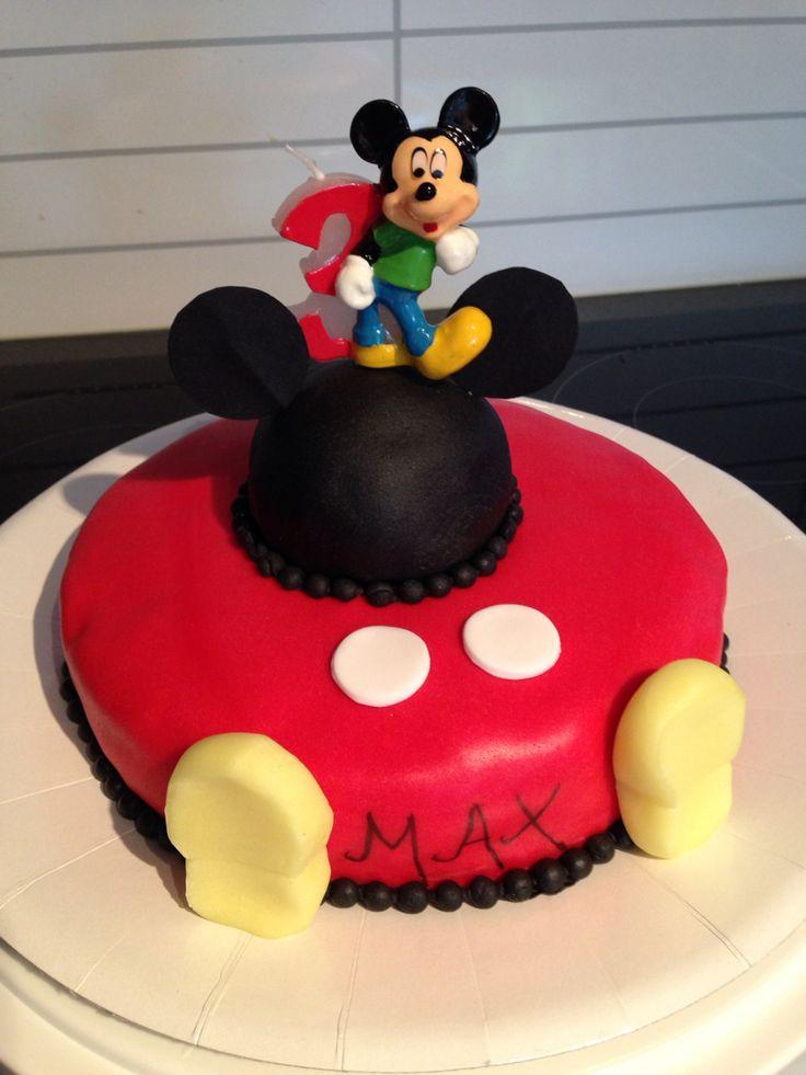 Mikke mus kake til min sønns 3årsdag