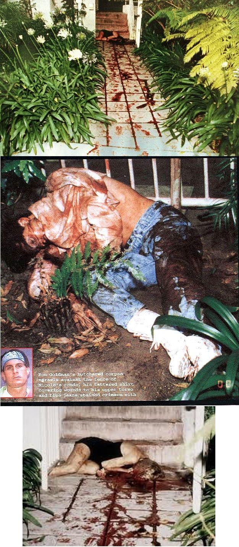 Crime Scene Photos Nicole Brown Simpson Simpson crime scene oj