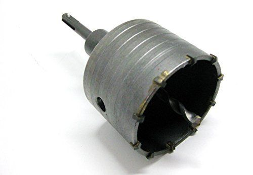 Falon Tech Couronne de forage trou HSS Boîte HSS Scie cloche SDS Plus 80mm: Price:15.75Couronne de forage à SDS Plus Ø 80mm Idéal pour…