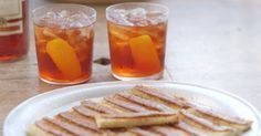 Simon Hopkinson Recipe - Negroni. The whole meal he suggests here looks amazing. Suggestion to serve Negroni's with anchovy toasts........mmmmmmmmm grown up delicousness