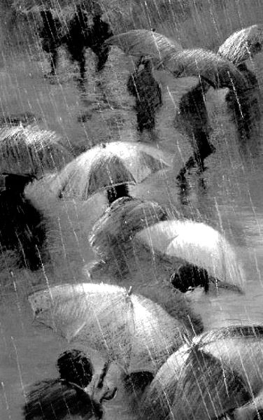 I love the smell of rain, maybe that's why I love umbrellsa