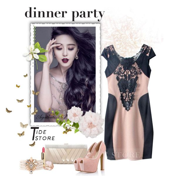 """""""Dinner Party"""" by agathalizz on Polyvore"""
