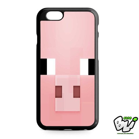 Minecraft Pig Pink Head iPhone 6 | iPhone 6S Case