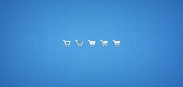Free Shopping Cart Icons (PSD/PNG) | Premium Pixels