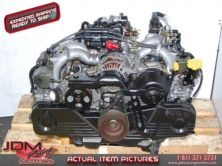 Used Subaru EJ201 SOHC Replacement Engine for EJ251.  Find this item only on our website: https://www.jdmracingmotors.com/engine_details/1964  Tags: #Subaru #ej201 #sohc #engine #jdm #ej251 #forester #jdmracingmotors