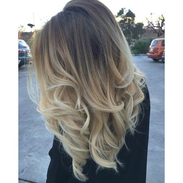 Ash Natural Blonde to Icy Light Blonde Balayage Ombré