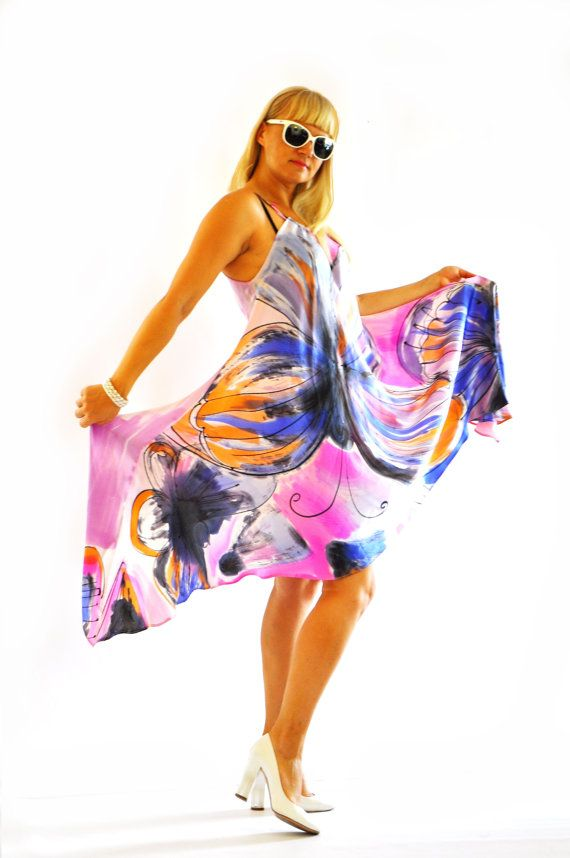 Hey, I found this really awesome Etsy listing at https://www.etsy.com/listing/227020939/hand-painted-silk-dresswoman-silk