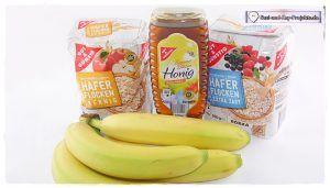 Haferflockenkekse mit Banane/Bananen Cookies Rezept ganz einfach