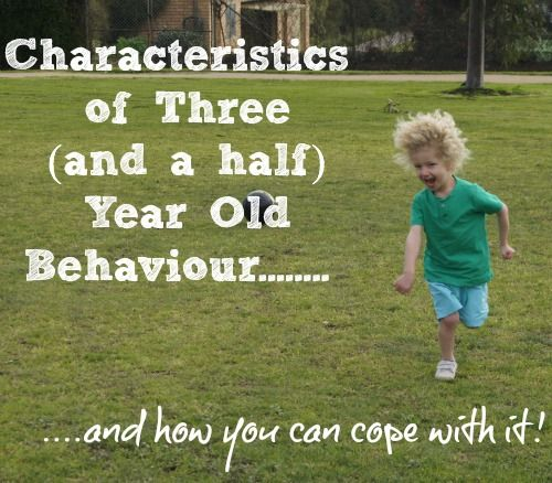 How I wish I'd read this a few months ago!  Lovely to read it now though as we come out of the other side of it.... slowly!!!      Characteristics of 3.5 year old behaviour - if you have a challenging 3.5 year old, this post will let you know that most of what is happening is completely normal and offer strategies to cope with it.