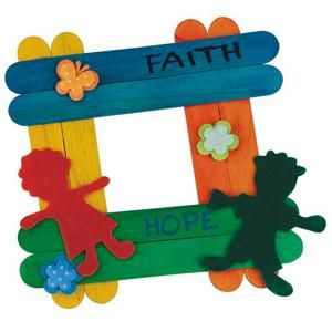 Christian  Picture Frame Craft for kids