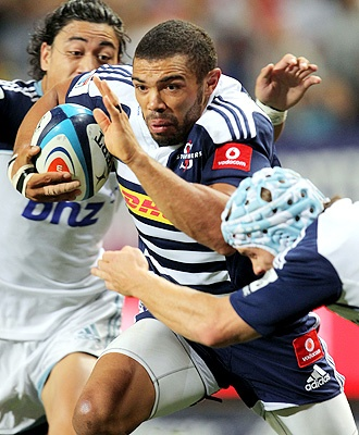 Brian Habana of the Stormers v Blues