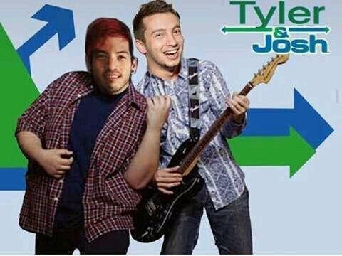 """Cual """"Drake & Josh"""" no señores lo de hoy es """"Tyler & Josh"""""""