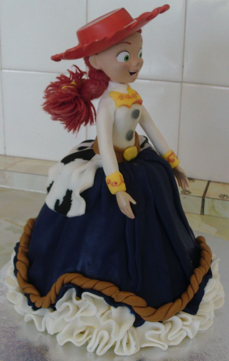 Jessie doll cake for my daughter's birthday 17th