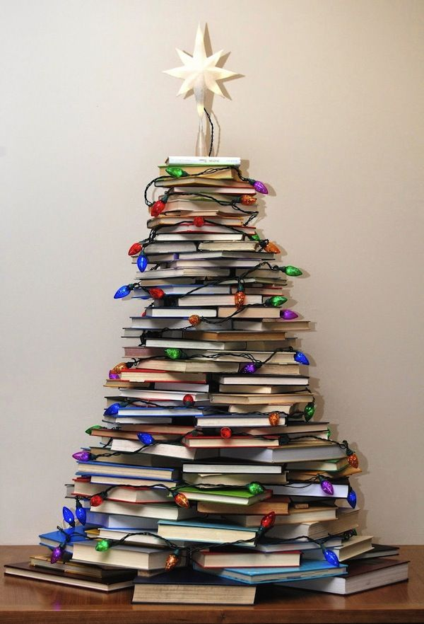 rbol de navidad para lectores