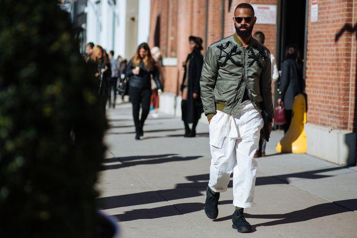 NYFW: Men's AW16 Day 2 — Men's Fashion Post