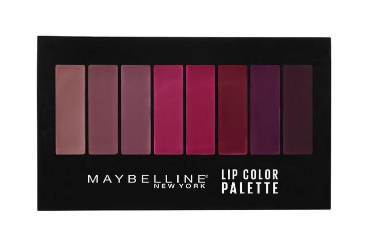 Maybelline Lip Color Palette