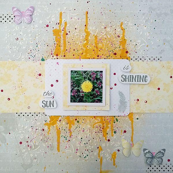 ScrapAndMe: The Sun Is Shining - LO o lecie