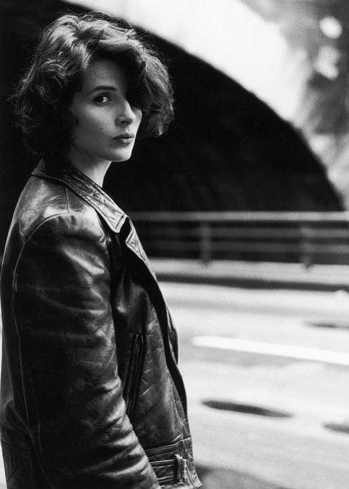 Juliette Binoche par Robert Doisneau, 1991