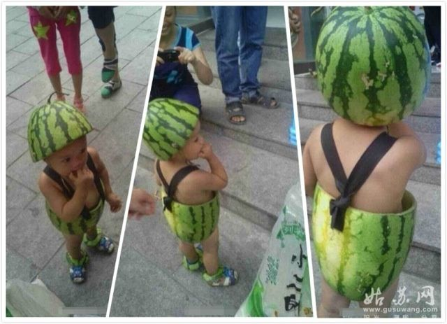 These Are China's Watermelon Kids