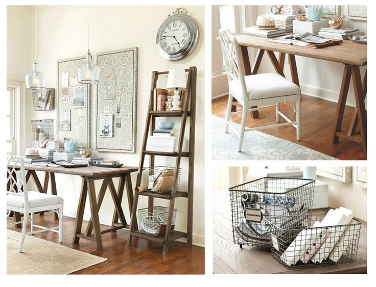 Ballard designs dayna home office craft hobby room pinterest shops the o 39 jays and wood - Ballard design home office ...