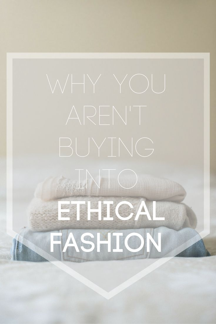 The top 3 obstacles keeping you from an ethical wardrobe - fair trade fashion