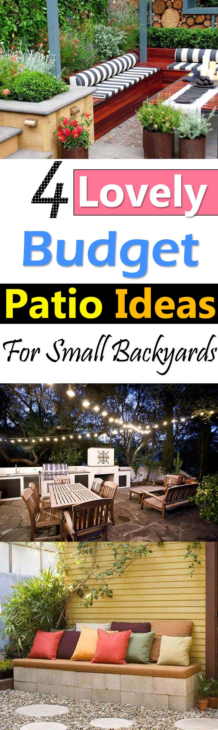 With These Lovely Patio Ideas You Can Create A Lovely Patio Area At Cheap  Cost.