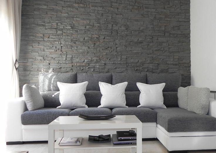 Eco-decora.com de pared con paneles modelo pizarra gris